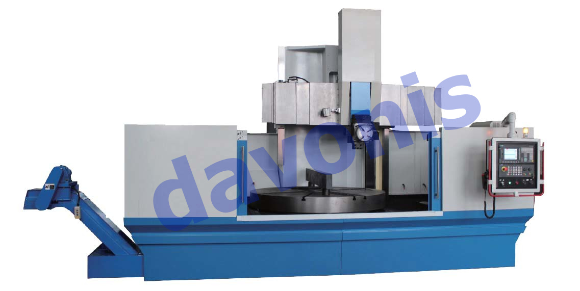 Torno Vertical Simple Columna CNC